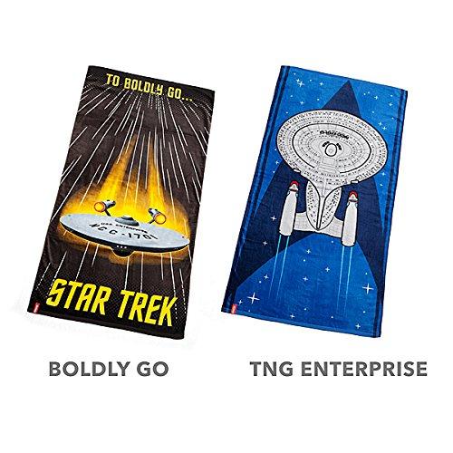 Star Trek Next Generation TNG ENTERPRISE Strandtuch 152,4x 76,2cm
