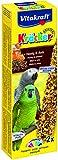 Vitakraft Kräcker, Knabberstangen für Papageien mit Honig und Anis, 2er Pack (2 x 2 Stück)