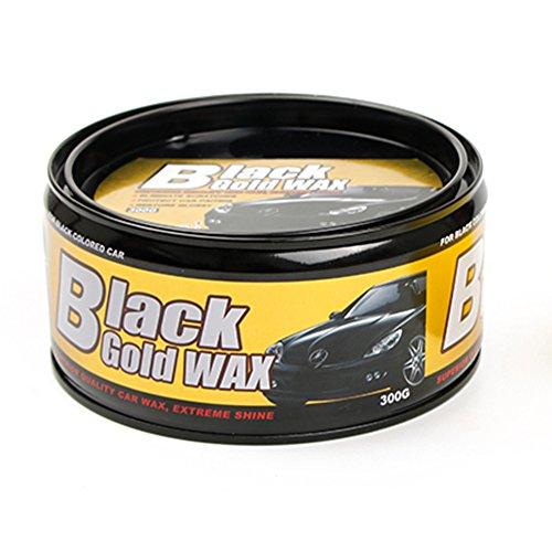Autowachs, glänzende Politur Ultra Gloss Harte Carnauba Paste Auto Pflege Wasserdichte Folie Beschichtung Wachs Lackreparatur Kratzer Flecken entfernen, schwarz