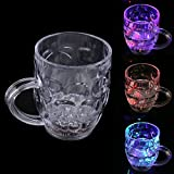 #8: TUCUTE Magic Cup INDUCTIVE RAINBOW COLOR WATER CUP -FLASHING AMZING GLASS WARE-PARTY