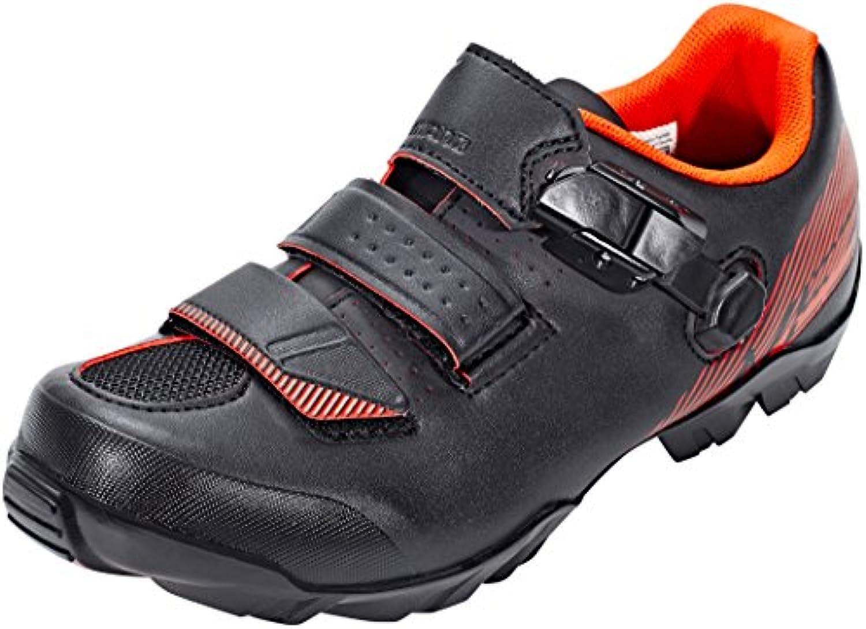 Shimano SHME3PG390SO00 - Zapatillas ciclismo, 39, Negro - Naranja, Hombre  -
