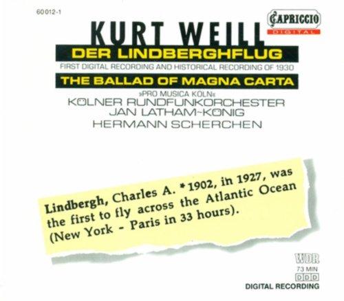 Der Lindberghflug (1st version): No. 13. Hindemith: Auf dem Flugplatz Le Bourget bei Paris erwartet in der Nacht des 21. Mai 1927 abends 10 Uhr eine riesige Menge den amerikanischen Flieger