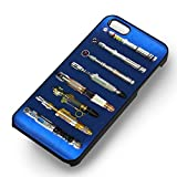 Sonic Screwdrivers Doctor Who Für Iphone 6 und Iphone 6s Hülle (Schwarzen Hartplastik Hülle) H4Q4JB