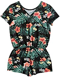 Roxy Nice Evening Knit Dress, Niñas, Anthracite Hibiscus Twist, 14/XL