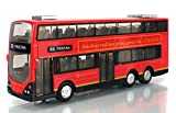 E-Darter Best of New Red Classical London Routemaster Double-Decker Bus for London Diecast Model (Red)