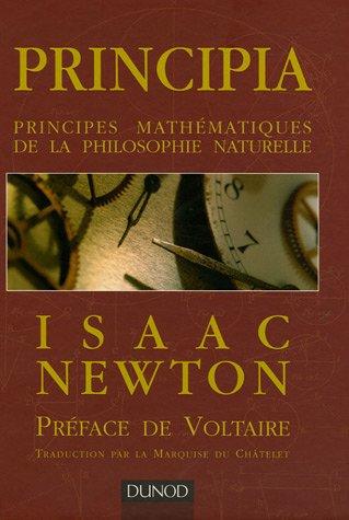 Principia : Principes mathématiques de la philosophie naturelle par Isaac Newton