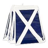 Bristol Novelty pg022d banderines de Escocia, color azul/blanco, talla única