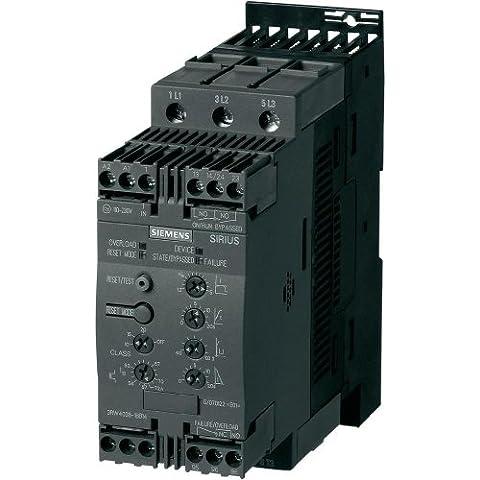 Siemens Indus.Sector Sanft Starter Sirius 3RW4036–1BB1422kW/400V, 110–230V 3RW4; Dimensioni S2Sanft Starter 4011209691841 - Soft Starter
