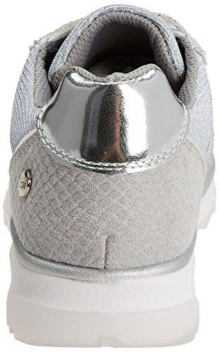 Xti 47792, Sneakers Basses Femme Argent (Platinium)