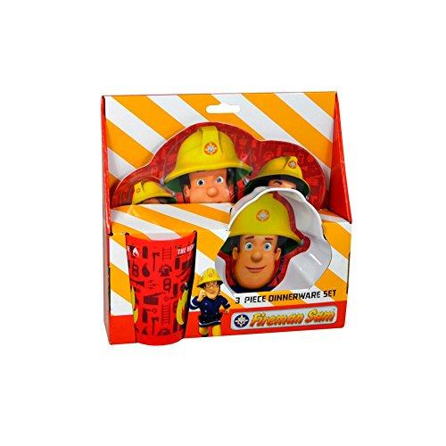 Image of Fireman Sam 3pc Dinner