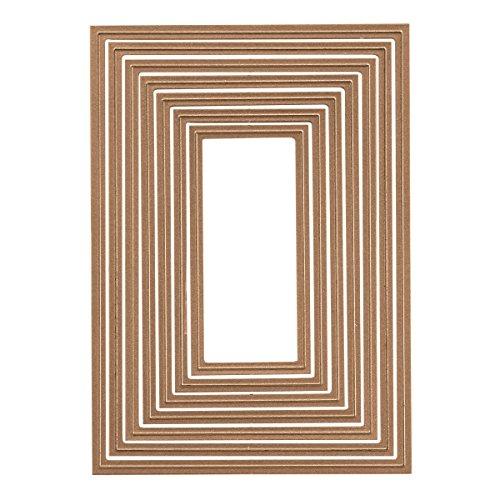 Spellbinders – Set di fustelle base per biglietti, serie Nestabilities, 5 x 7 cm - 3