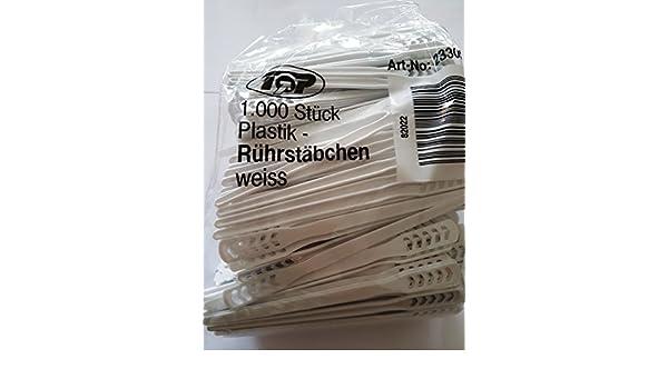 5000 Einweg Rührstäbchen  Kaffeerührer  Plastikrührer 110 mm lang