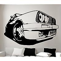 Streetwall Pared Adhesivo BMW 3 E30, Vinilo, Negro, Medium
