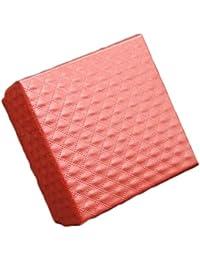 Cuadrado De Forma De Cartón Pequeño Anillo Caja Pendiente Caja