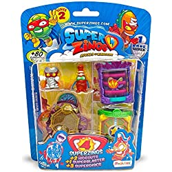Superzings - Blíster Guaridas Y Figuras Serie 2, (Magic Box PSZ2B416IN00)