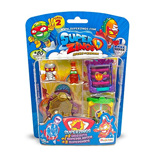 Superzings - Pacchetto Hideout Playset con Figure, Serie 2, Assortito