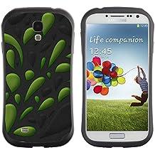 Super Galaxy iFace Series Tpu Silicona Carcasa Funda Case // V00006531 Dibujo gotas de agua verde // Samsung Galaxy S4 S IV SIV i9500