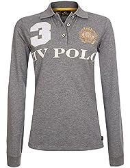 HV Polo–Polo favouritas eques LS–Polo Large gris