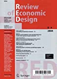 Review of Economic Design  Bild