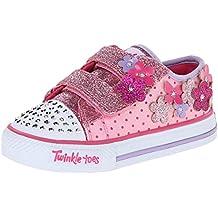 Skechers ShufflesPretty Blossoms - zapatilla deportiva de material sintético niña