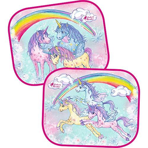 Parasol Coche Unicornio Conjunto 2 Piezas Variado