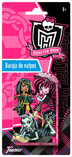 Imagen principal de Fournier 175020 - Baraja De Naipes Monster High