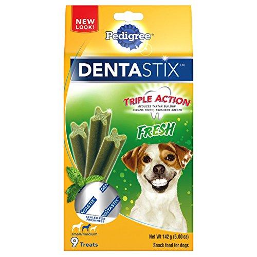 Fresh, 63 Treats, Frustration-Free Packaging : PEDIGREE Dentastix Small/Medium Dog Treats