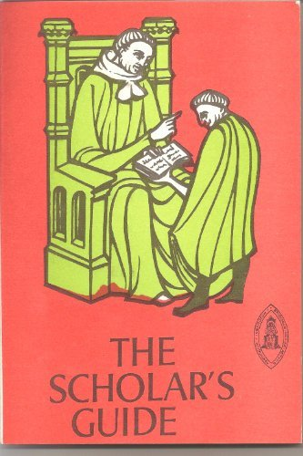 Scholars Guide by Pedro Alfonso (1969-01-01)