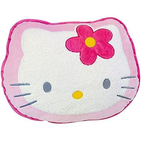 Hello Kitty - Cojín cara, color rosa (Giros AB711241)