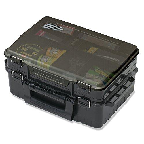 Meiho Versus VS 3078 39x29,5x18,6cm - Tacklekoffer, Angelbox für Zubehör & Kunstköder, Angelkasten für Wobbler & Kleinteile