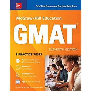 McGraw-Hill Education GMAT 2018 (Mcgraw Hill Education Gmat Premium)