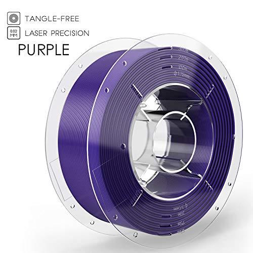 SainSmart PRO-3 PLA 3D-Drucker Filament, 1.75mm, Verwicklungs-Freier erstklassiger, 1KG Spule, Lila