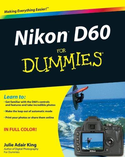 Nikon D60 For Dummies (English Edition) Nikon-slr Entry Level