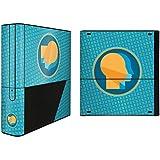 YOUNiiK Styling Skin Designfolie für Xbox 360 E komplett - Zwilling neo (Lieferumfang = Skin für Front, Ober- und Unterseite)