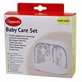 CLIPPASAFE Baby's First Grooming Kit (White)