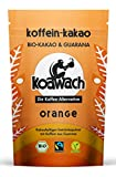 koawach Orange Kakaopulver mit Koffein aus Guarana Wachmacher Kakao - Bio, vegan und Fair Trade (220g) - Neues Design
