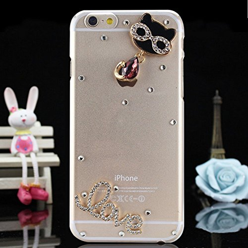 iPhone 6S Plus Coque Bling Bling,iPhone 6S Plus Coque Antichoc,iPhone 6S Plus Coque Fille,iPhone 6S Plus Coque Femme,EMAXELERS iPhone 6S Plus Coque Diamant Hard Etui,iPhone 6S Plus Coque Dual Layer Pl Diamond PC Series 21