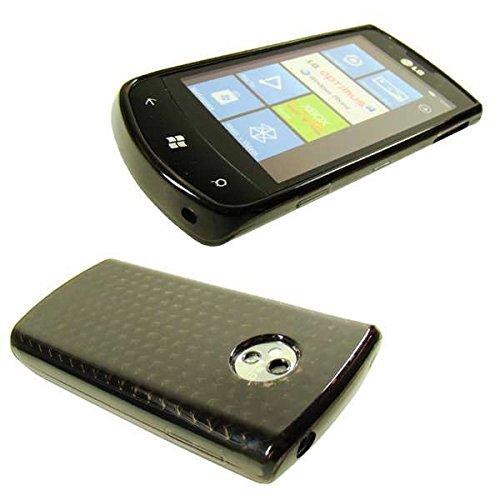 caseroxx Handy TPU-Bumper für LG E900 Optimus 7 aus TPU, stoßfeste Schutzhülle Smartphone (Handyhülle TPU in braun)