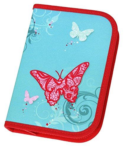 Preisvergleich Produktbild Schule Bleistift Fall Schmetterling mit 30 Stück Stabilo