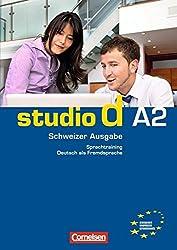 studio d A2: Gesamtband Schweiz. Sprachtraining mit eingelegten Lösungen