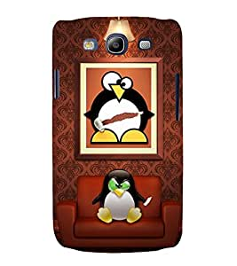 printtech Linux Penguin System Back Case Cover for Samsung Galaxy S3 Neo / Samsung Galaxy S3 Neo i9300i