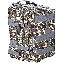 Wenquan,Mochila de camuflaje bolsa hombres y mujeres deportes al aire libre mochila de viaje