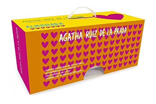 Agatha Ruiz De La Prada. Kissen mit System multicopos aus Memory-Schaum, laminiert mit einer Bügeleisen 5mm. Visco-Schaumstoff, gekleidet mit einem hochwertige Stoff Palette. Maßnahmen 70x 40. cm