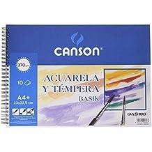Guarro Canson 822647 - Bloc A4, 10 hojas, 370 gr