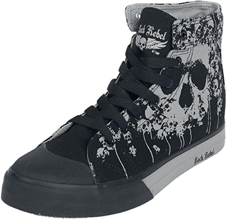 Rock Rebel by EMP Walk The Line Zapatillas Negro