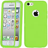 MEILISHO® Iphone TPU Coque Housse Case Protection pour Iphone 5C (Vert)