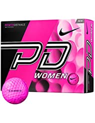 Nike Power Distance Women Bolas, Unisex adulto, Rosa, 12