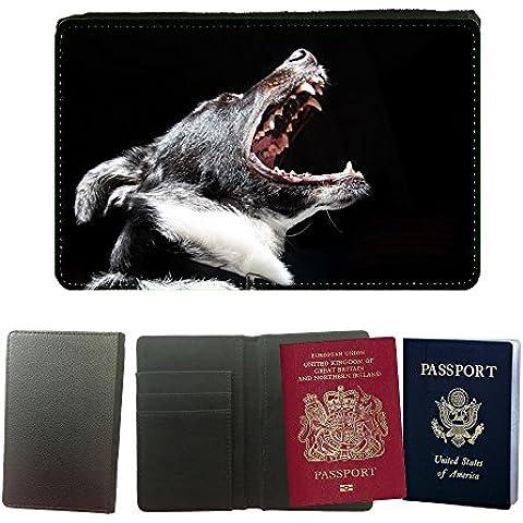 Cubierta del pasaporte de impresión de rayas