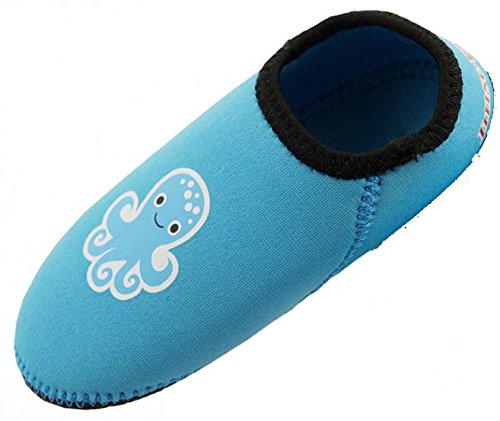 Imse Vimse Water Shoes Baby-Badeschuhe Aqua Socks Neopren Tuerkis Turquoise (12-18 Monate)