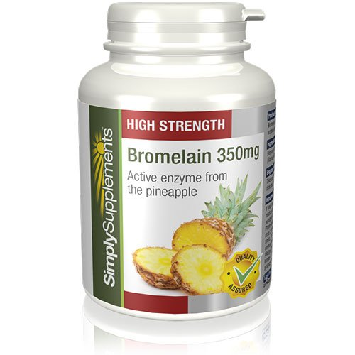 Bromelina 350mg|Efficace Antinfiammatorio Naturale| 120 Capsule (Bromelina Naturali)